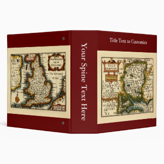 "Southampton: Mapa de Southamptonshire el condado Carpeta 2"""