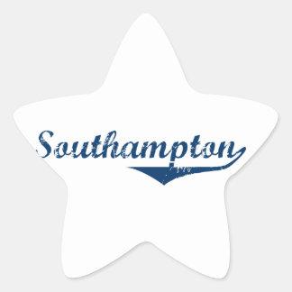Southampton Star Sticker