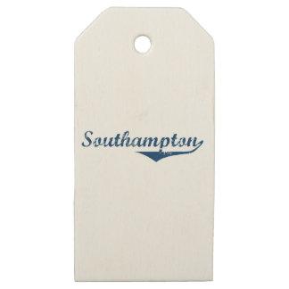 Southampton Wooden Gift Tags