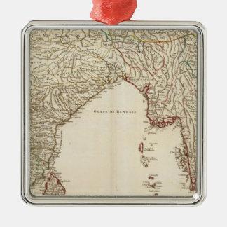 Southeast Asia 2 Metal Ornament