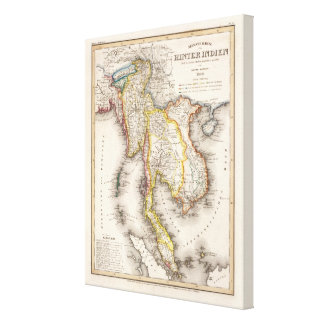 Southeast Asia Gallery Wrap Canvas
