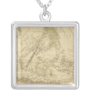 Southeast AsiaIndonesia Square Pendant Necklace