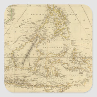 Southeast AsiaIndonesia Square Sticker
