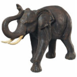 """Southeast Asian Elephant Cutout<br><div class=""""desc"""">Photo sculpture magnet of Southeast Asian elephant. See the entire Bali Retreat Magnet collection in the SPECIAL TOUCHES 