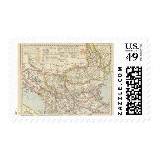 Southeast Europe, Romania, Turkey, Servia Postage