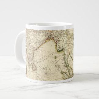 SoutheaSt. India 20 Oz Large Ceramic Coffee Mug
