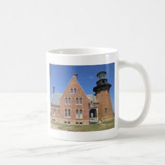 Southeast Lighthouse Building Block Island Coffee Mug