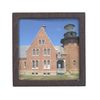 Southeast Lighthouse Building Block Island Jewelry Box