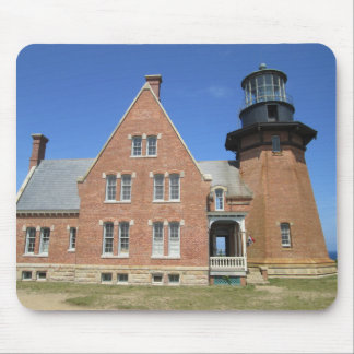 Southeast Lighthouse Building Block Island Mouse Pad