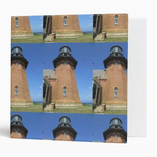 Southeast Lighthouse Tower Block Island 3 Ring Binder