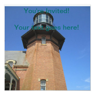 Southeast Lighthouse Tower Block Island Card
