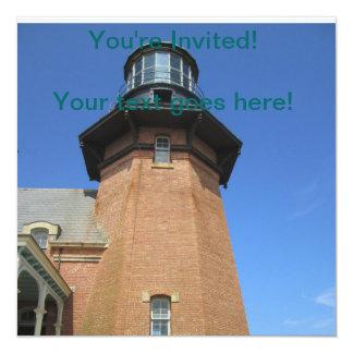 Southeast Lighthouse Tower Block Island Invitation