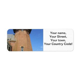 Southeast Lighthouse Tower Block Island Label