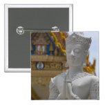 Southeast Thailand, Ko Samui aka Koh Samui). 2 Inch Square Button