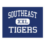 Southeast Tigers Middle Meridian Mississippi Postcards