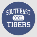 Southeast Tigers Middle Meridian Mississippi Stickers
