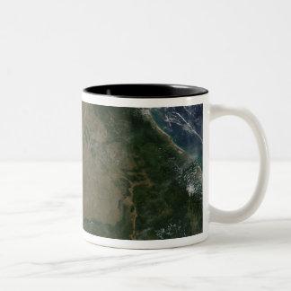 Southeastern Asia Two-Tone Coffee Mug