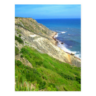 Southeastern Bluffs Block Island Postcard