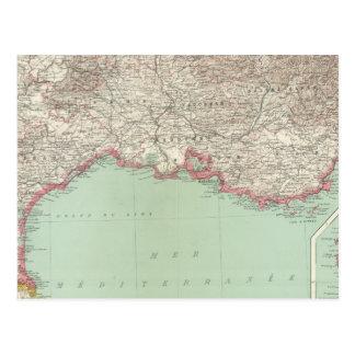 Southeastern France Postcard