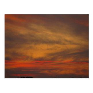Southeastern Illinois Sunset Postcard