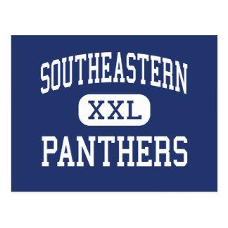 Southeastern Panthers Middle Richmond Dale Postcard