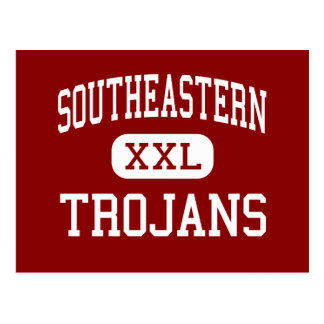 Southeastern - Trojans - High - South Charleston Postcard