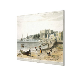 Southend, from 'A Voyage Around Great Britain Unde Canvas Print
