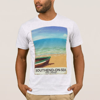 Southend-on-Sea, Essex Vintage travel poster T-Shirt