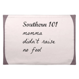 southern101-4 placemat