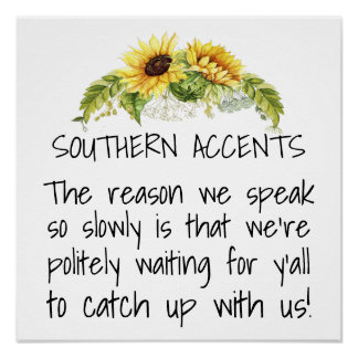 Southern Accents Poster