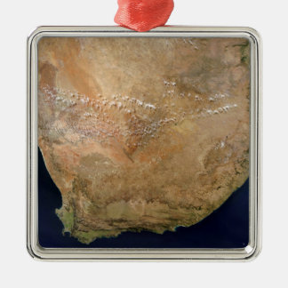 Southern Africa Metal Ornament