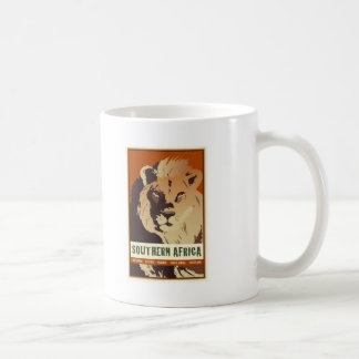 Southern Africa Classic White Coffee Mug