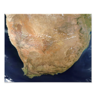 Southern Africa Photo Print