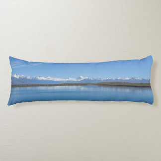 Southern Alps, New Zealand Body Pillow