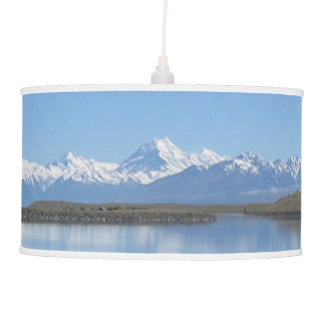 Southern Alps, New Zealand Hanging Lamp