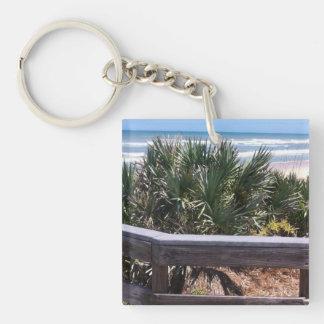 Southern Atlantic Coast Single-Sided Square Acrylic Keychain