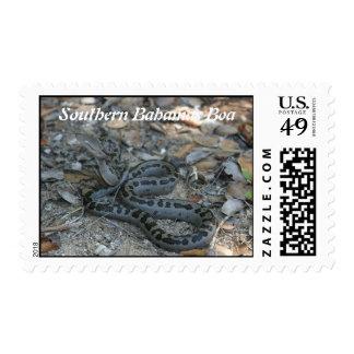 Southern Bahamas Boa Postage Stamp