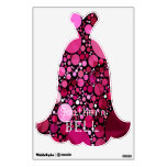 Southern Bell Gown Wall Decal