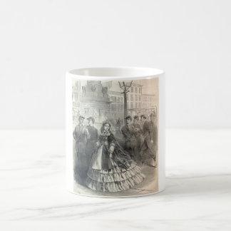 Southern belle, 1861 coffee mug