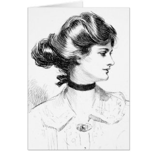 Southern Belle 1909 Card