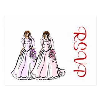 Southern Belle Brides Postcard