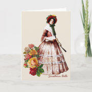 Southern Belle Greeting Card