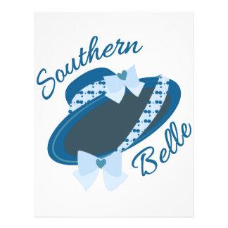 Southern Belle Letterhead