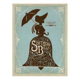 Southern Belle Postcard