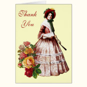 Southern Belle Thank You Card
