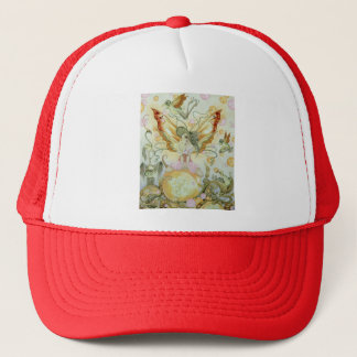 Southern Bellepunk- Just Peachy Full Trucker Hat