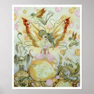 Southern Bellepunk- Just Peachy Print