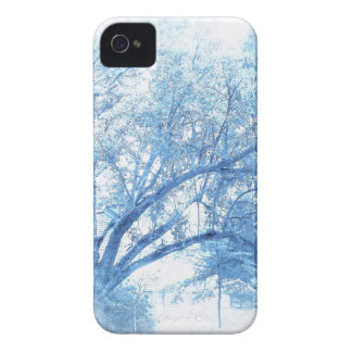 Southern Blue Oak Toile Case-Mate iPhone 4 Case