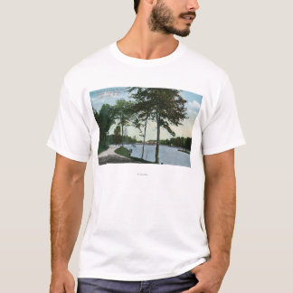 Southern Blvd View of Central Park and Lake T-Shirt