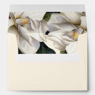Southern Botanical Wedding Pre-Addressed Envelope